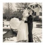 Winterzauber Hochzeit im Schnee