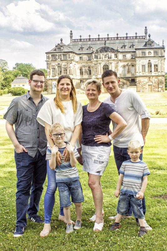 Outdoor Shooting Family Großer Garten Dresden